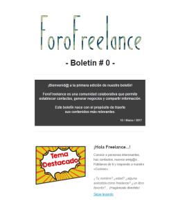 Boletín laRedactorambiental
