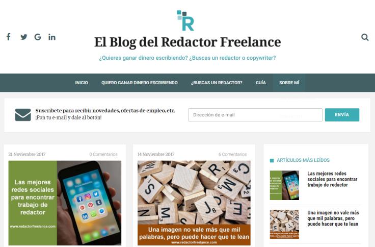 ElBlogdelRedactorFreelance laRedactorambiental