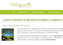 Posts para blog. Agricultura y Consumo ecológicos